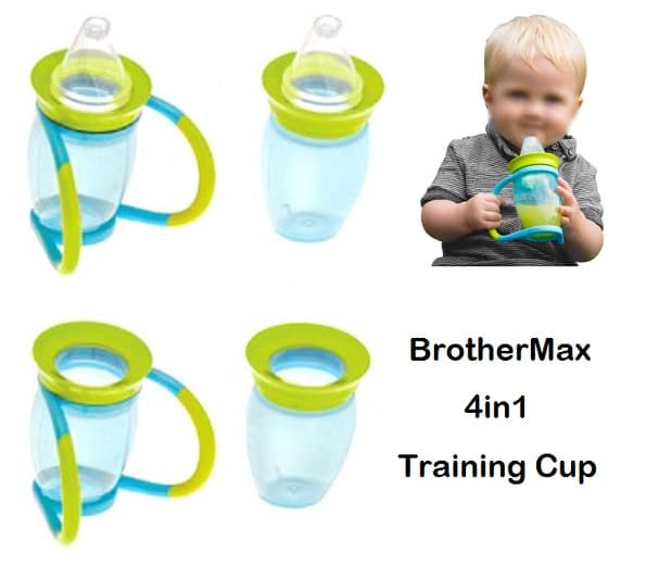 Brother max 4 in 1 Trainer Cup (Botol Minum Balita)